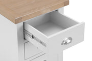 GoodWood by Concepts - Turner White Small Bedside Table