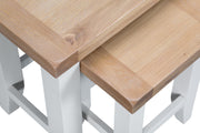 GoodWood by Concepts - Turner White Nest Of 2 Tables