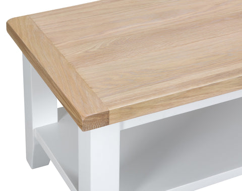 GoodWood by Concepts - Turner White Small Coffee Table