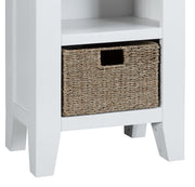 GoodWood by Concepts - Turner White Small Narrow Bookcase
