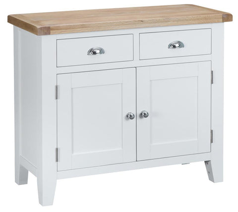 GoodWood by Concepts - Turner White 2 Door 2 Drawer Sideboard