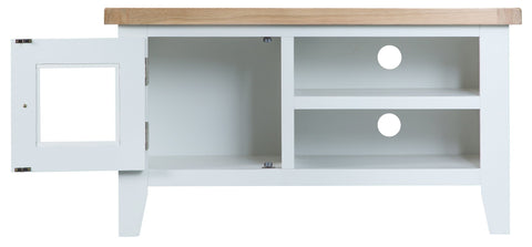 GoodWood by Concepts - Turner White Standard TV Cabinet