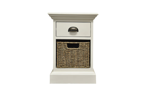 Concepts Wicker 1 Drawer 1 Basket Unit