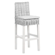 Concepts Wicker Bar Stool with Cushion - Various Colours