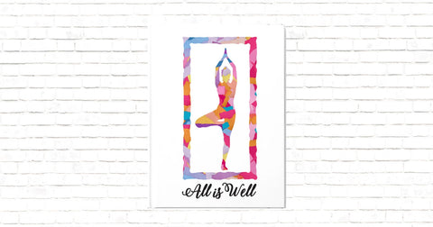 All is Well Tree Pose Journal