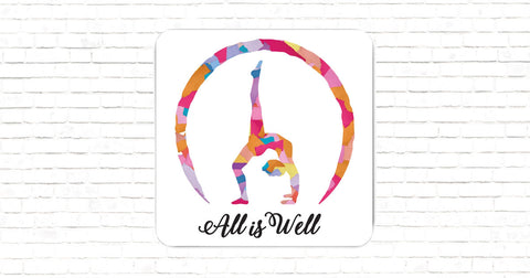 """All is Well """"Backbend"""" Magnet"""