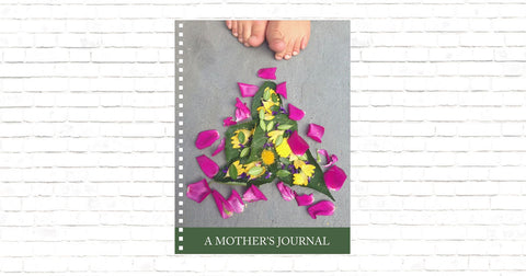 "A Mother's Journal Featuring ""Flower Art with Toes"""