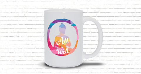 All is Well 15oz. Mug