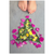 Meghan Nathanson Artistry color photo of child's toes with flower art arrangement on mini canvas print