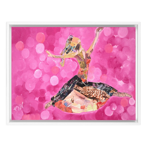 "Framed Canvas Wraps - ""The Dancer"""