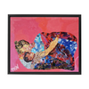 Meghan Nathanson Artistry a mother's touch collage art on canvas wrap framed