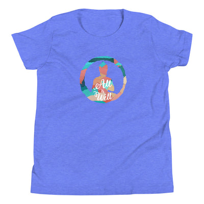 All is Well Colorful Youth Tee