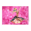 Meghan Nathanson Artistry woman dancing collage art on folded greeting card