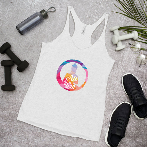 All is Well Racerback Tank