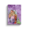 Meghan Nathanson Artistry mother sheltering child collage art on canvas wrap