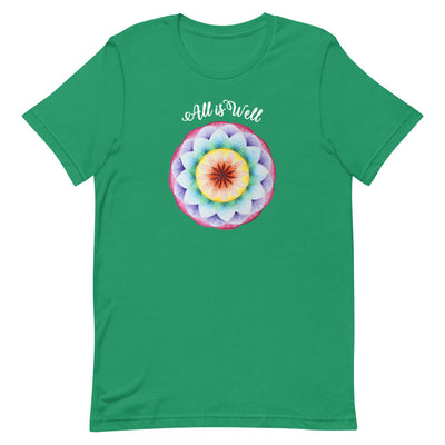 All is Well Mandala Unisex Tee by Jonah