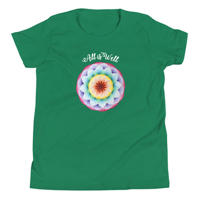 All is Well Mandala Youth Tee by Jonah
