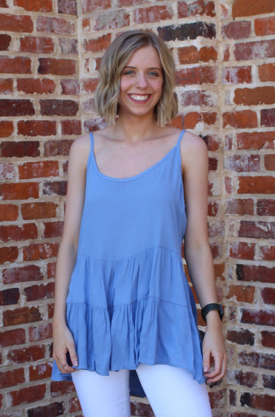 Carolina Skies Tank Top By Cashmere and Company