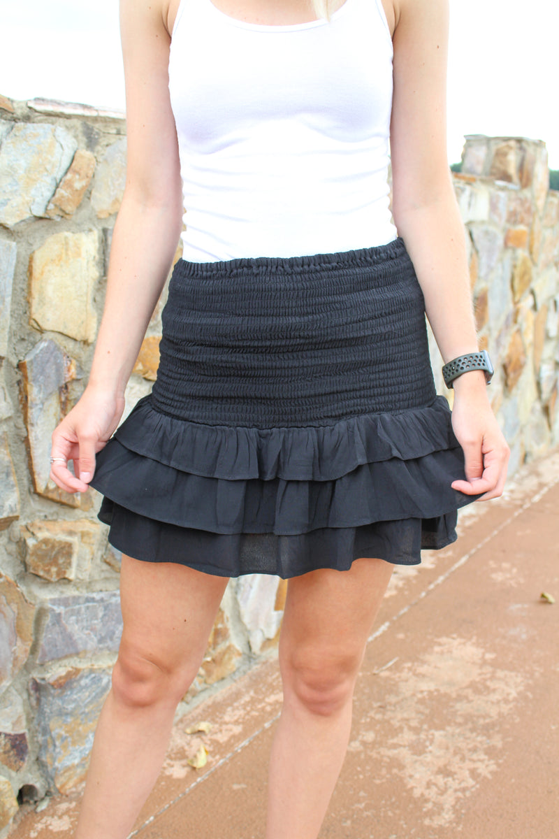 Raleigh Ruffle Skirt