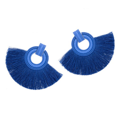 Kendall Tassel Earring by Cashmere and Company
