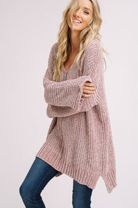 Fuzzy Feelings Taupe Sweater