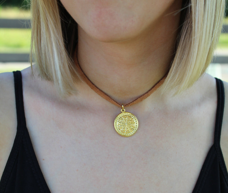 Sands Coin Choker by Cashmere and Company