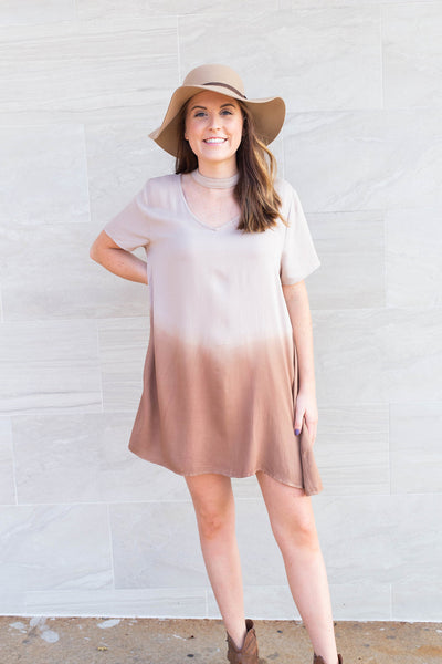 Under The Desert Sun Cut Out Dress by Cashmere and Company