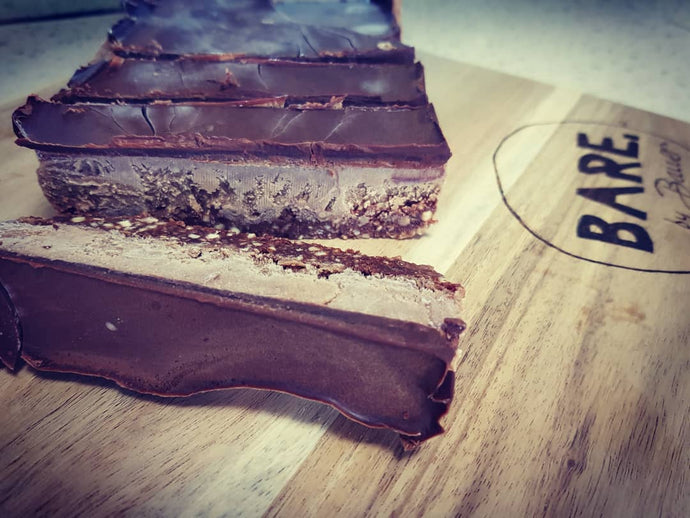 Healthy Mars Bar Slice