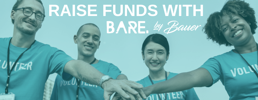 fundraising with bare by bauer