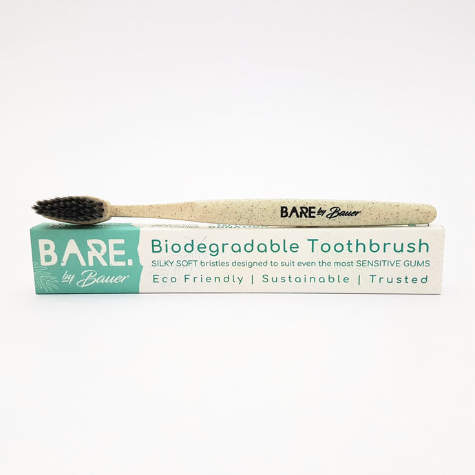 Toothbrush - BIODEGRADABLE - BARE by Bauer