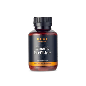 BEEF LIVER CAPSULES - BARE by Bauer