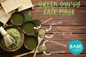 Facial Mask - GREEN GYPSY is a BARE by Bauer product. We think we are the best Natural Body & Skin Care brand made in Australia, catering for vegan and sensitive skin types. Candice & Matt Bauer are so proud to provide beautiful products at an affordable price so Australians can live a low tox and nourished life, using organic and natural ingredients. Skincare and body products at their best, hand crafted to nourish and help make your skin happy. We do not hide