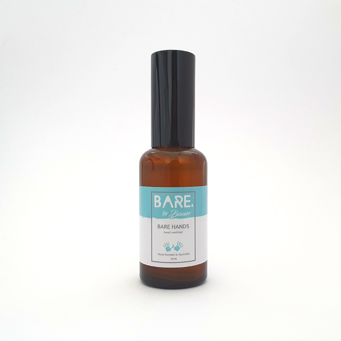 Hand Sanitiser - BARE HANDS - BARE by Bauer