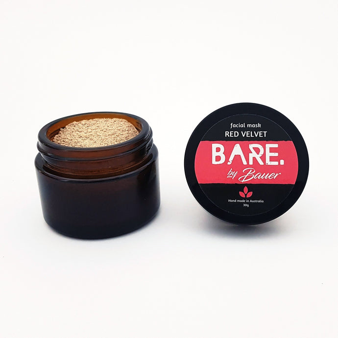 Facial Mask - RED VELVET - BARE by Bauer