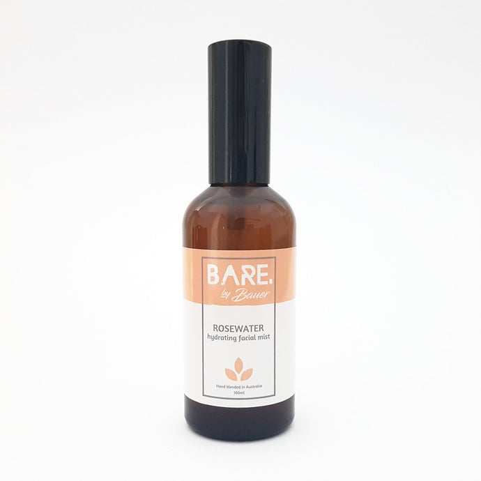 Rosewater Hydrating & Toning Facial Mist - BARE MIST
