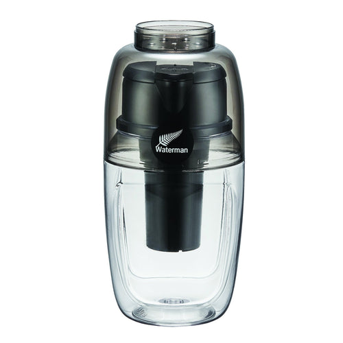 BMP Waterman Black 600ml + 3 pack of filters - BARE by Bauer