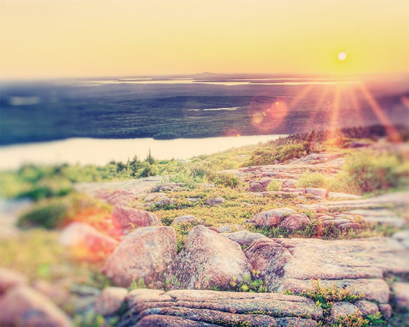 Blue Hill Overlook, Cadillac Mountain, Acadia National Park