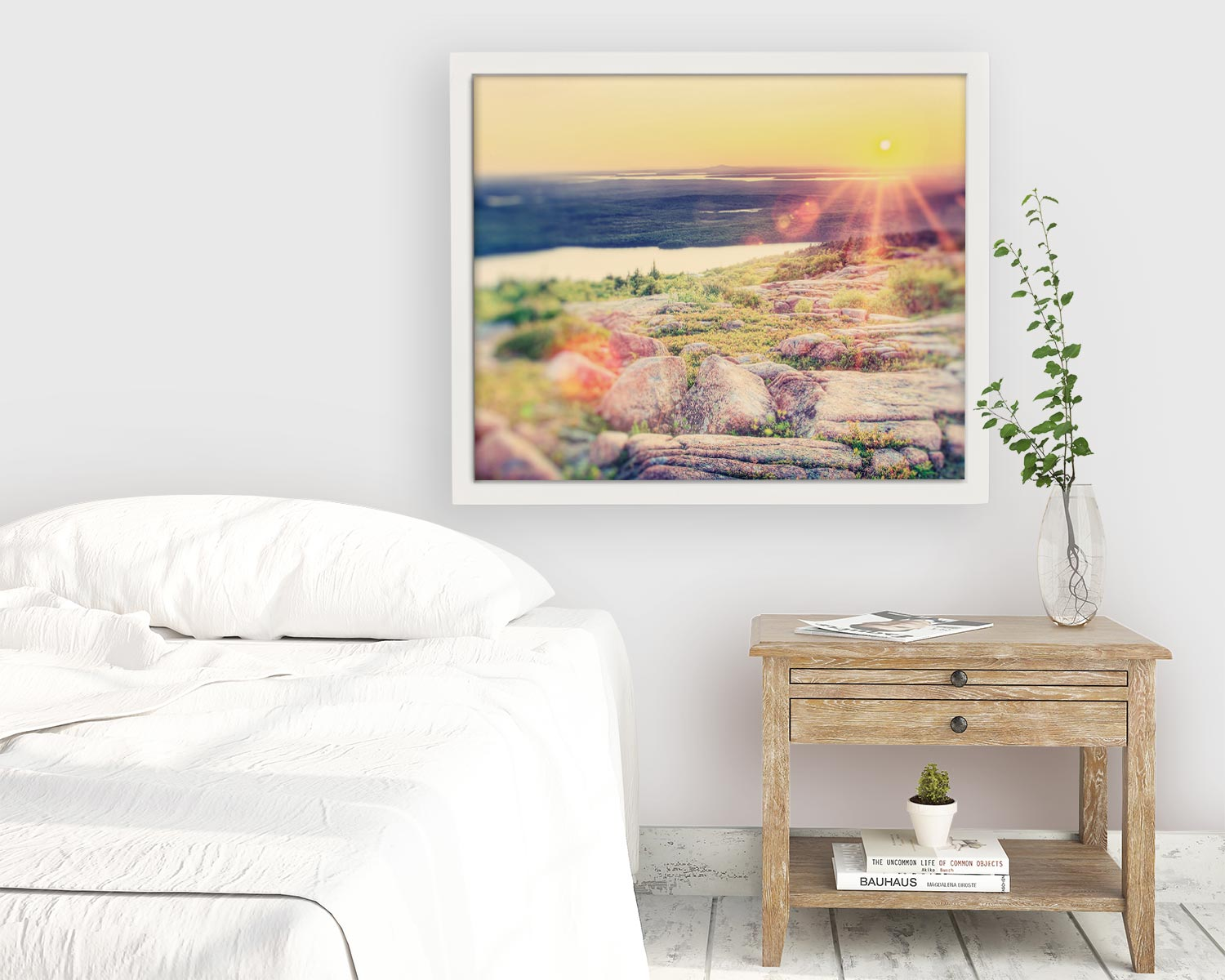 "Maine Landscape Photography Print ""Magic Hour"""