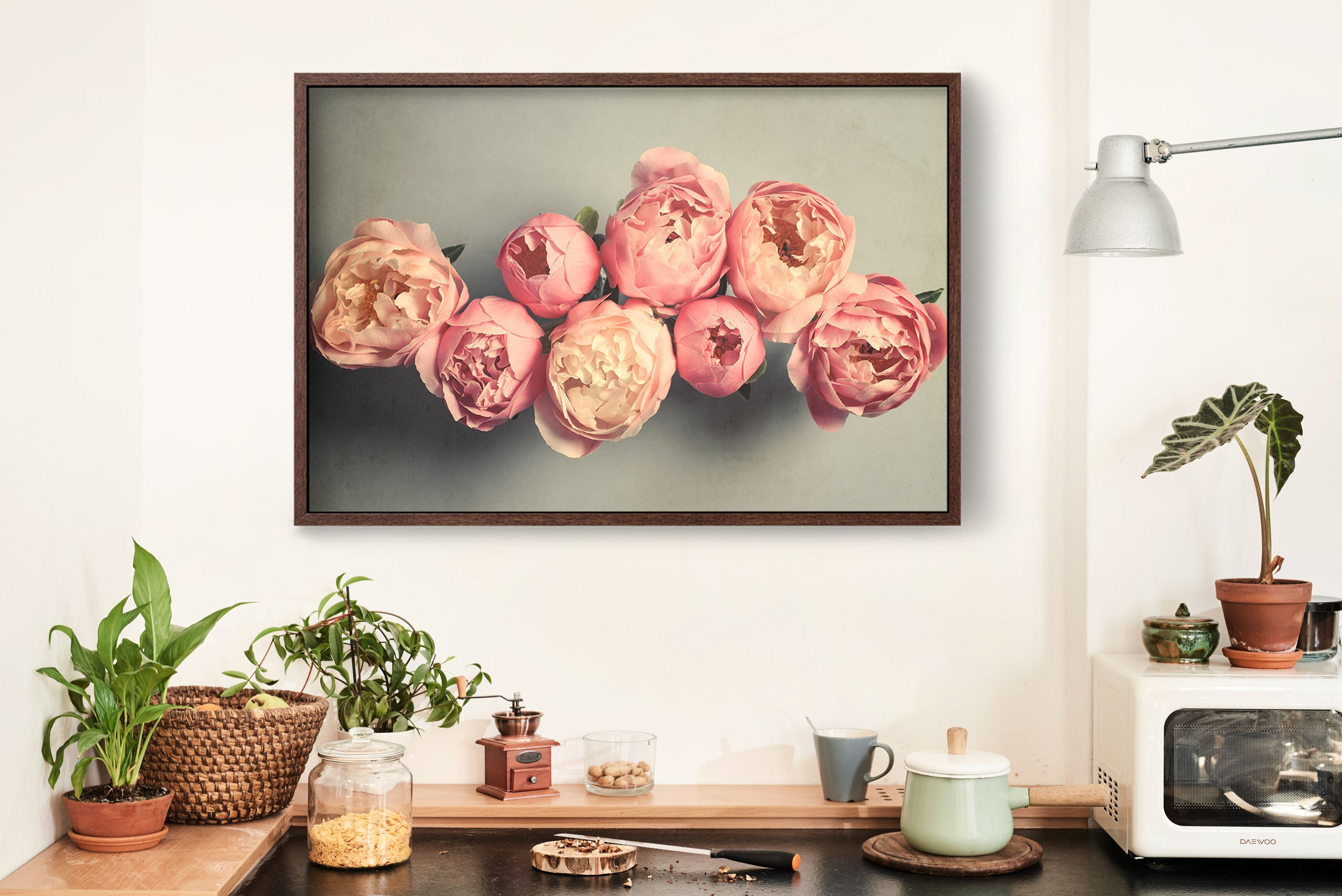 "Fine Art Flower Photography Print ""Peony No. 58"""