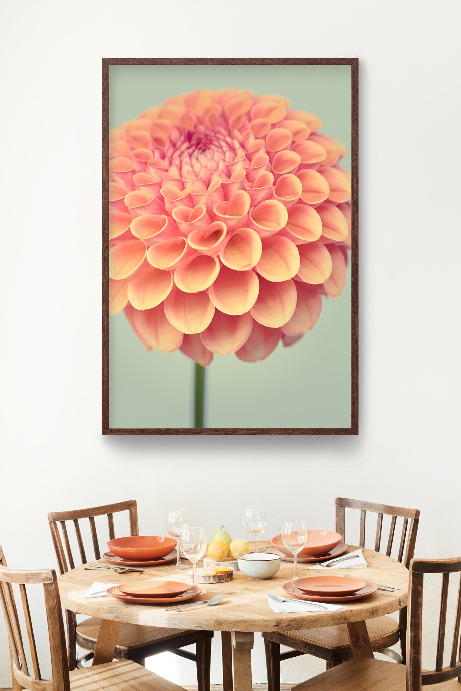 "Fine Art Flower Photography Print ""Dahlia No. 46"""