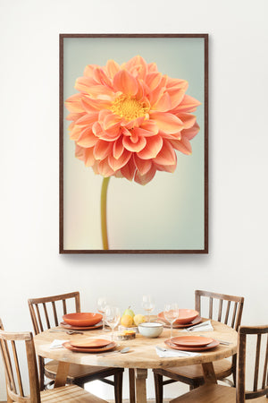 "Fine Art Flower Photography Print ""Dahlia No. 49"""
