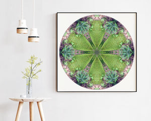 Nature Mandala Art Print No. 1037