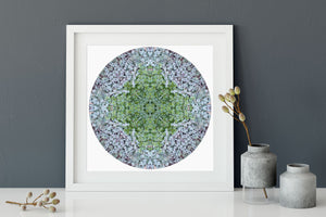 Nature Mandala Art Print No. 1045