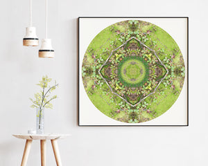 Nature Mandala Art Print No. 1055