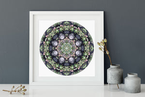 Nature Mandala Art Print No. 226