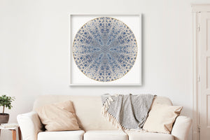 Nature Mandala Art Print No. 313