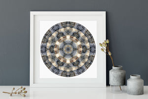 Nature Mandala Art Print No. 371