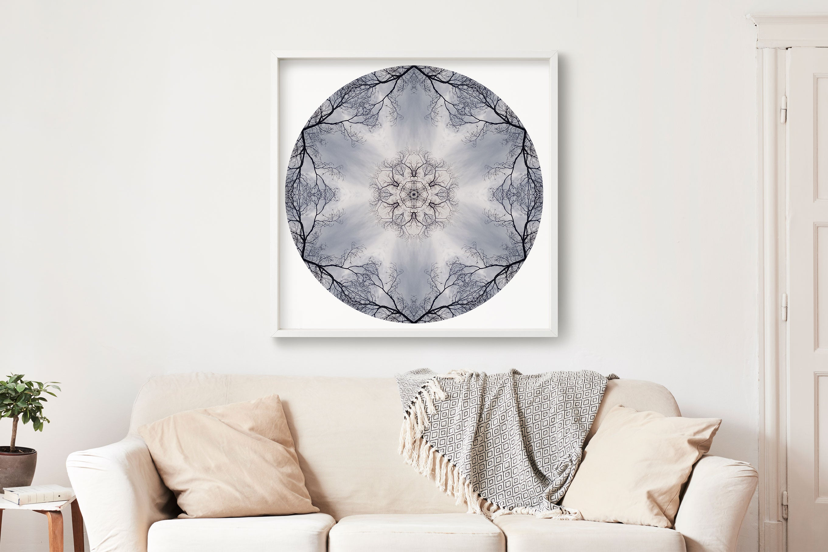 Nature Mandala Art Print No. 461