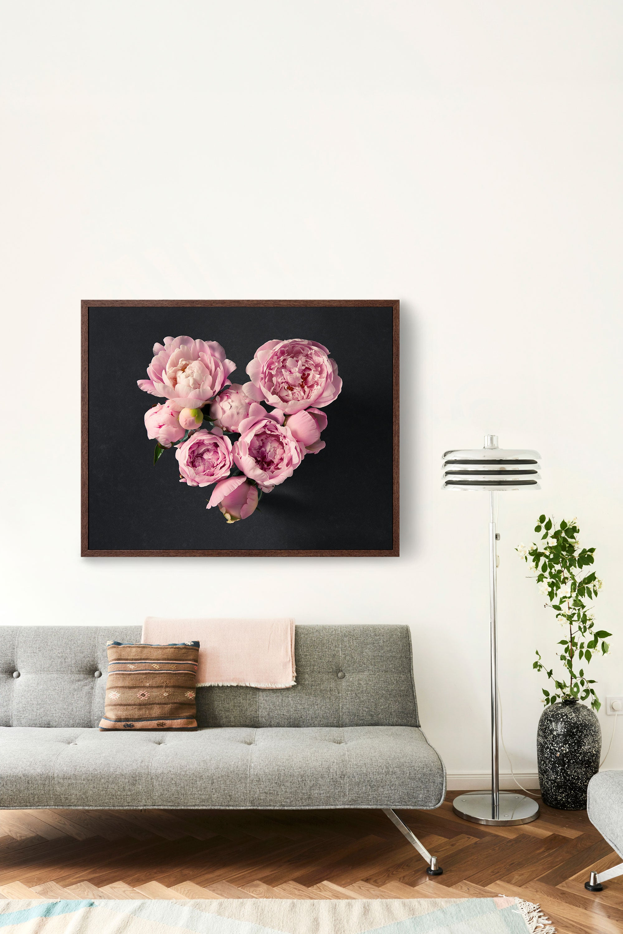 "Fine Art Flower Photography Print ""Peony Heart"""