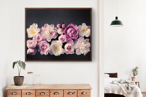 "Fine Art Flower Photography Print ""Peony No. 40"""